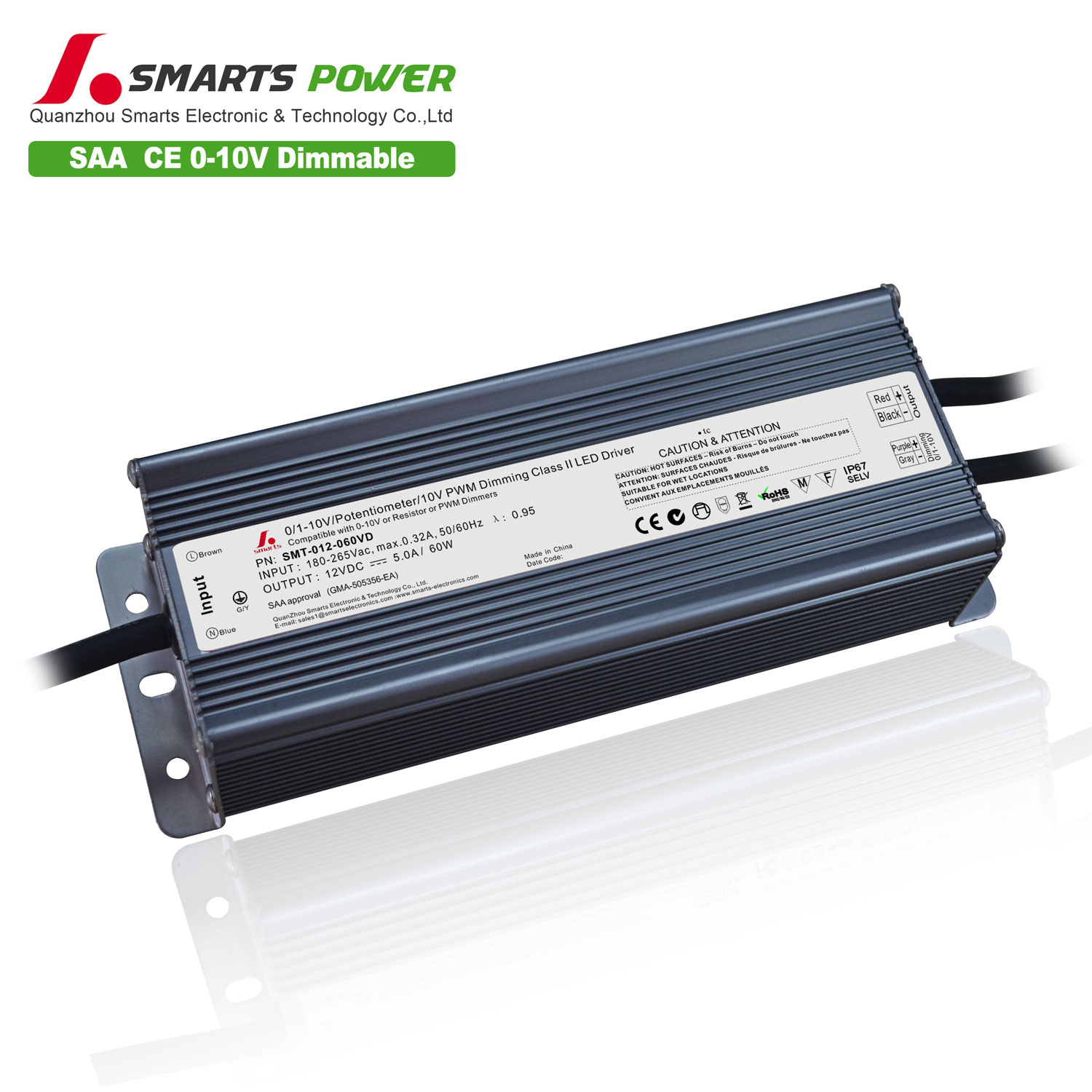 12v 60w dimmable led driver