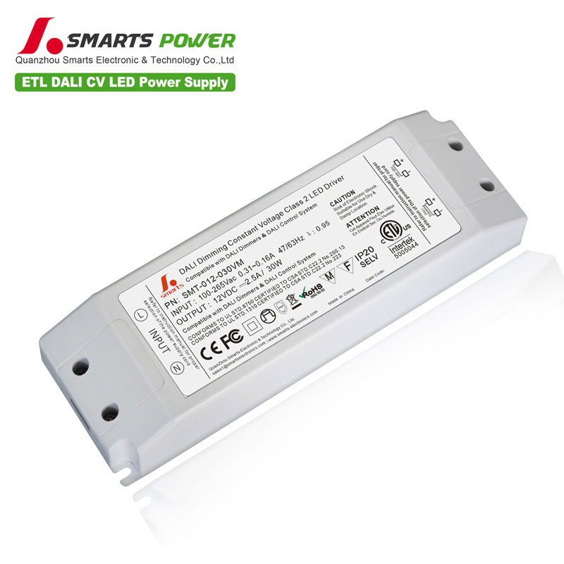 30w DALI dimmable led driver