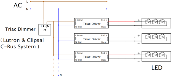 triac switch dimmer