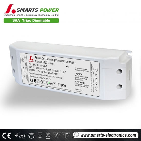 triac dimming led driver 12v 60W