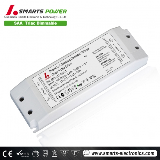 60w Triac dimmbare Konstantspannung LED-Netzteil