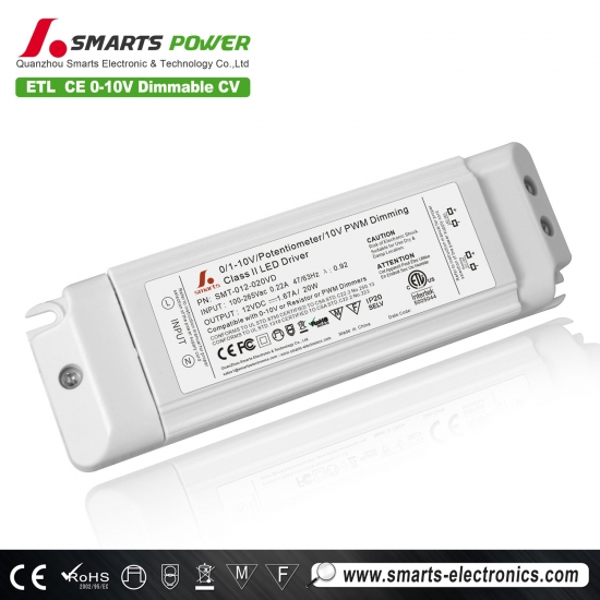 SAA 0-10v dimmable led driver