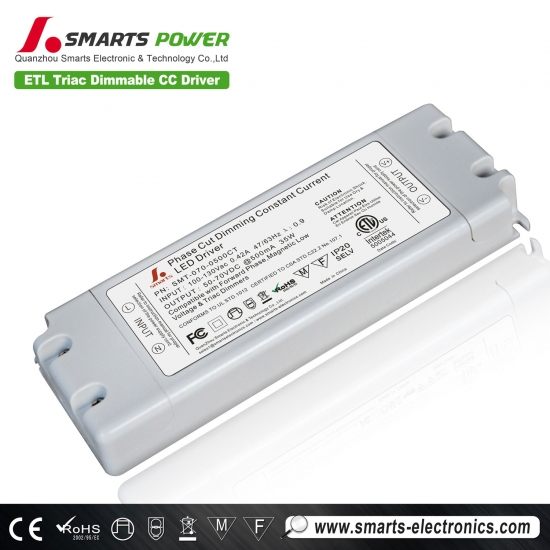 500mA Triac dimmbare LED-Power-Treiber