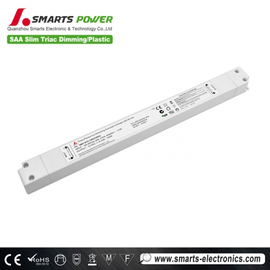 SAA listed slim type 12v 100w led driver