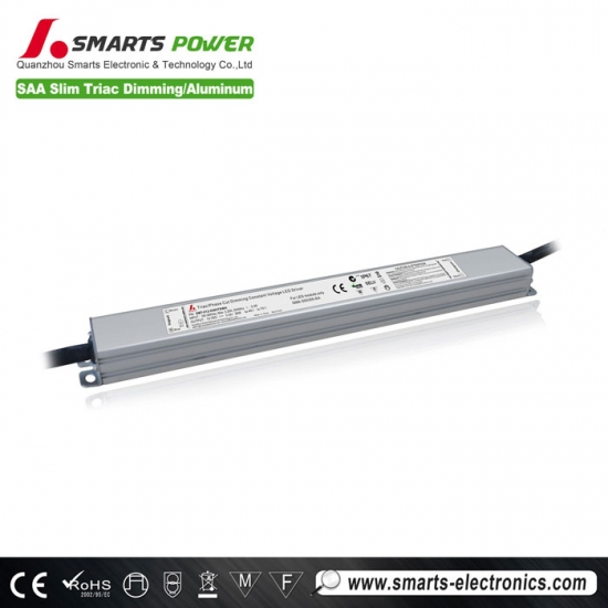 saa listed silm type triac dimmable led driver