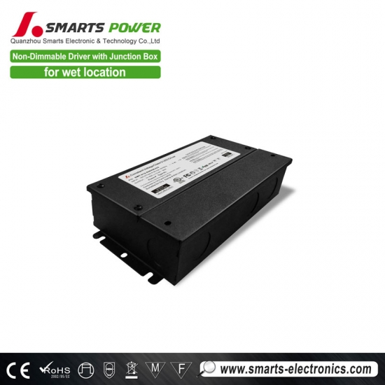 UL led driver junction box