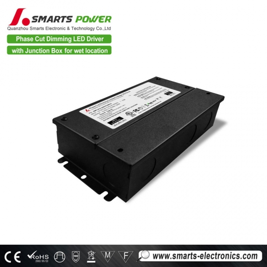 UL/cUL dimmable constant voltage led driver