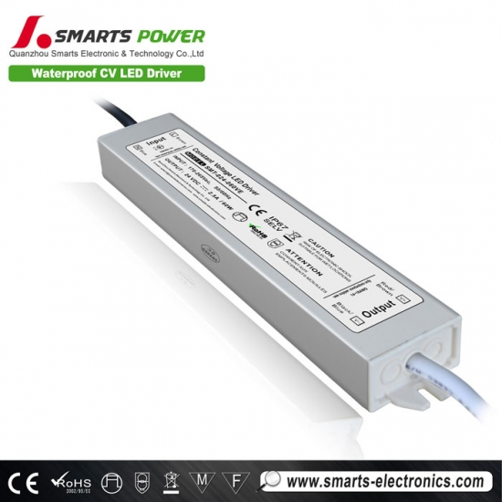 12v 60w waterproof constant voltage led driver